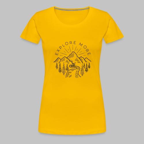 Explore more - Women's Premium T-Shirt