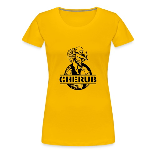 CHERUB LOGO BIG CLEAR - T-shirt Premium Femme