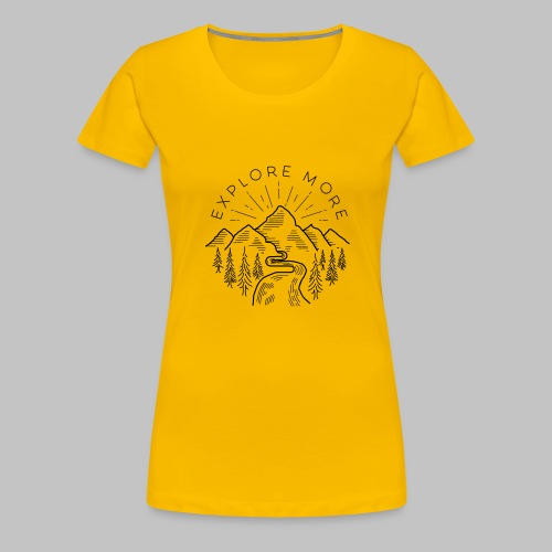 Explore more - Women's Premium T-Shirt