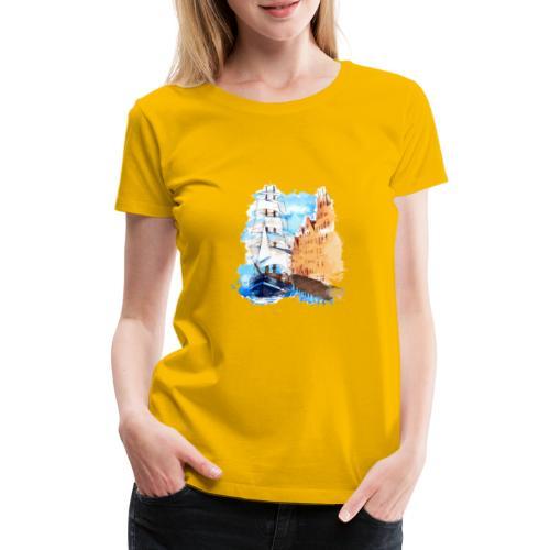 Großsegler - Frauen Premium T-Shirt