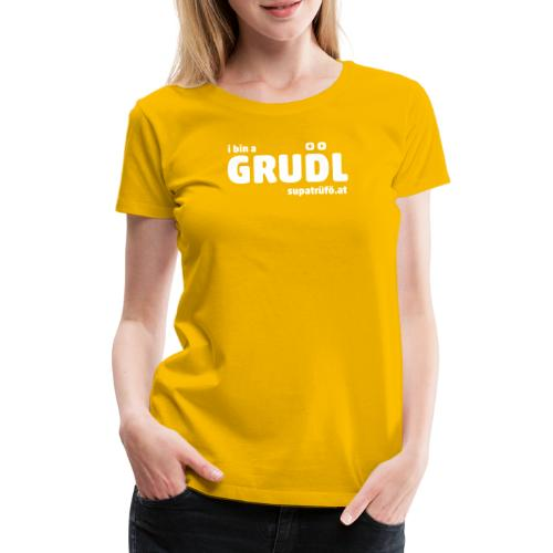 supatrüfö grudl - Frauen Premium T-Shirt