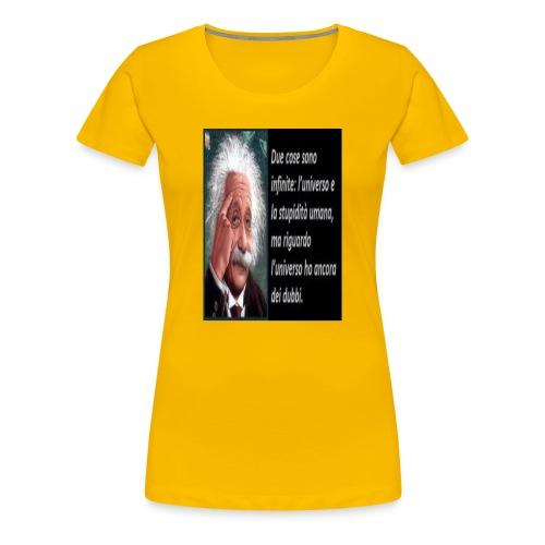 einstein - Maglietta Premium da donna