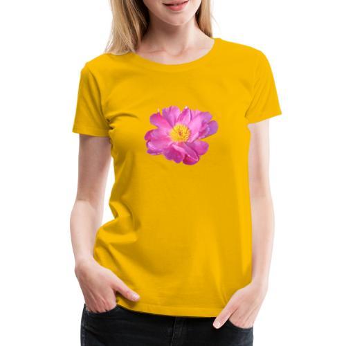 TIAN GREEN Garten - PfingstRose - Frauen Premium T-Shirt
