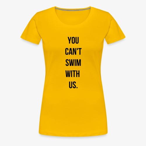 swim - T-shirt Premium Femme