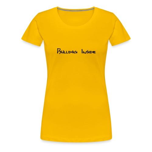 bulldoginside - Frauen Premium T-Shirt