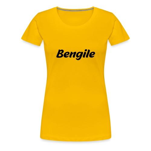 Bengile - österreichischer Dialekt - Frauen Premium T-Shirt