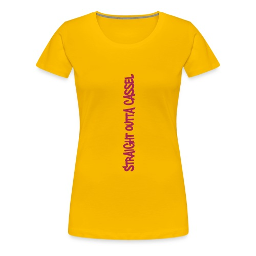 cassel tag - Frauen Premium T-Shirt