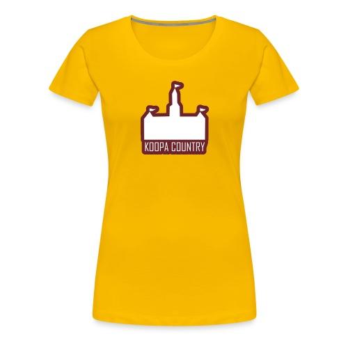 Koopa Country - T-shirt Premium Femme