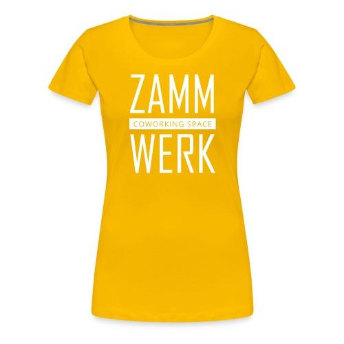 Zammwerk - Coworking Space - Frauen Premium T-Shirt