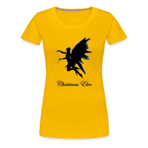 Isle of Christmas Elves - Women's Premium T-Shirt
