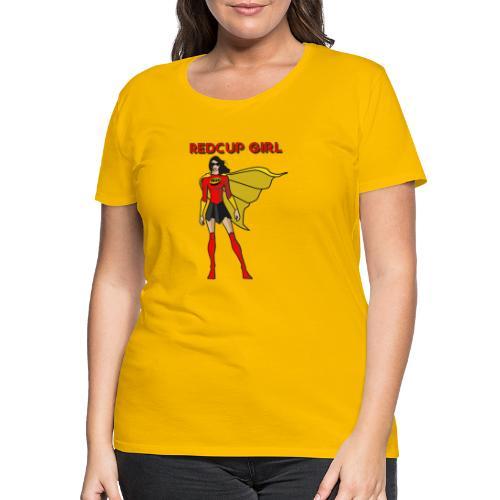 RedCup Girl Mrs.Hero von MyBeerPong - Frauen Premium T-Shirt