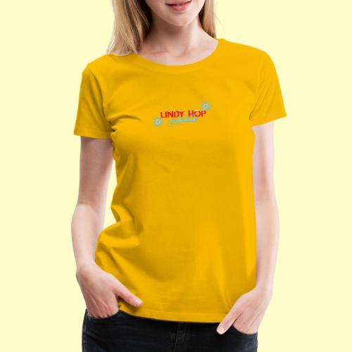 Lindy Hop Wonderland Tanz T-shirt - Frauen Premium T-Shirt