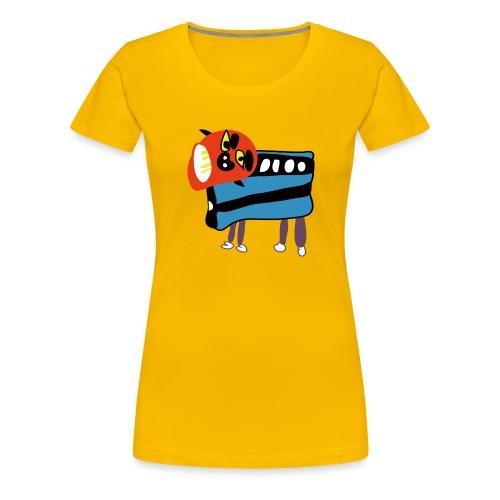 Shi Shi - Vrouwen Premium T-shirt