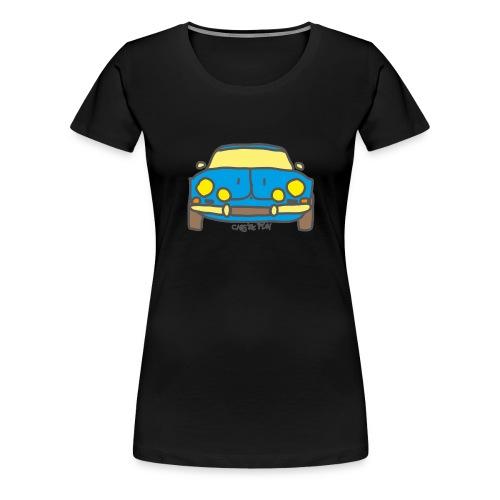 Voiture ancienne mythique française - T-shirt Premium Femme