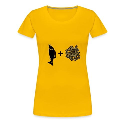 Fish and Chips - Women's Premium T-Shirt