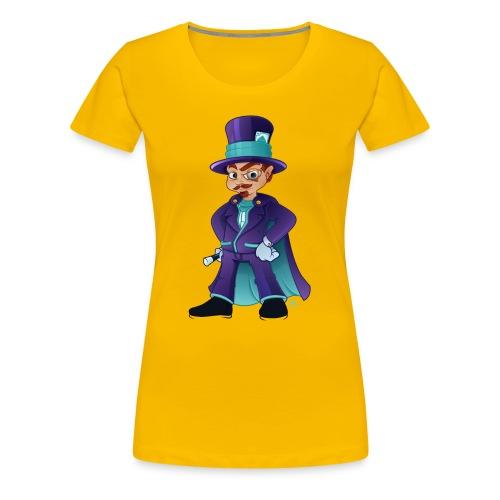 wizard - Dame premium T-shirt