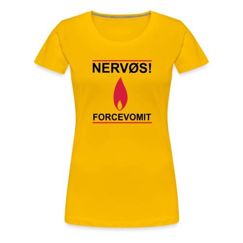 nervos1 - Premium T-skjorte for kvinner