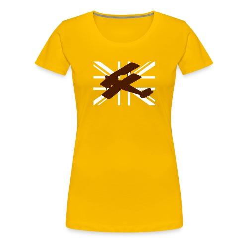 ukflagsmlWhite - Women's Premium T-Shirt