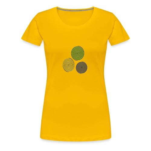 Kreise, Symbole, Figuren - Frauen Premium T-Shirt