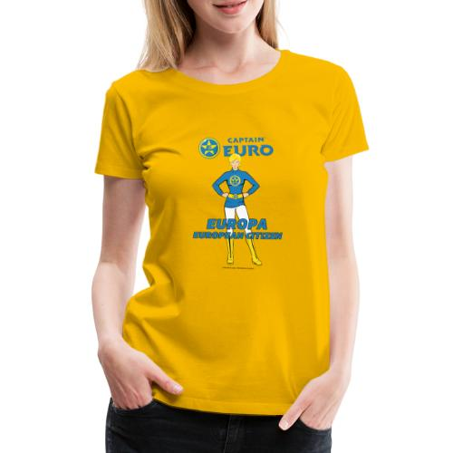 Europa - Camiseta premium mujer