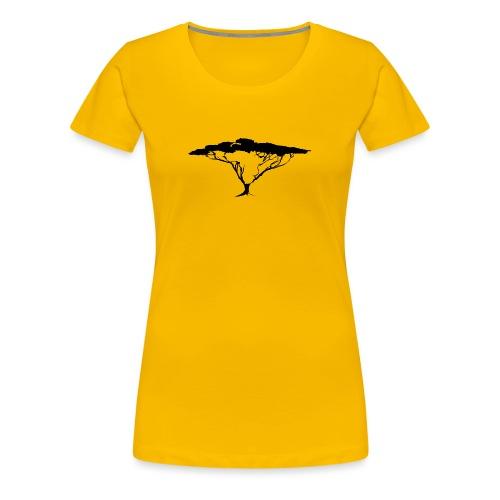 African Tree - Women's Premium T-Shirt