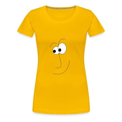 gezicht - Vrouwen Premium T-shirt