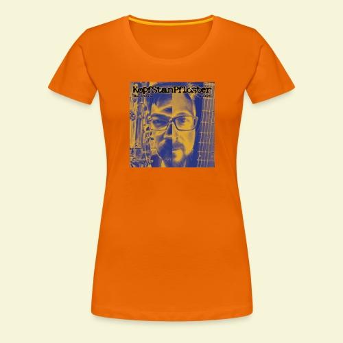 KopfStanPfloster Bild - Frauen Premium T-Shirt