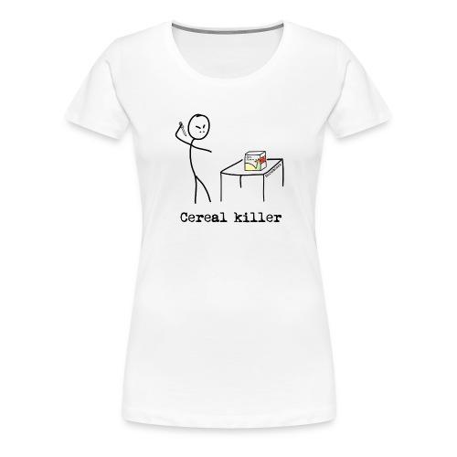 cereal2 - Premium T-skjorte for kvinner