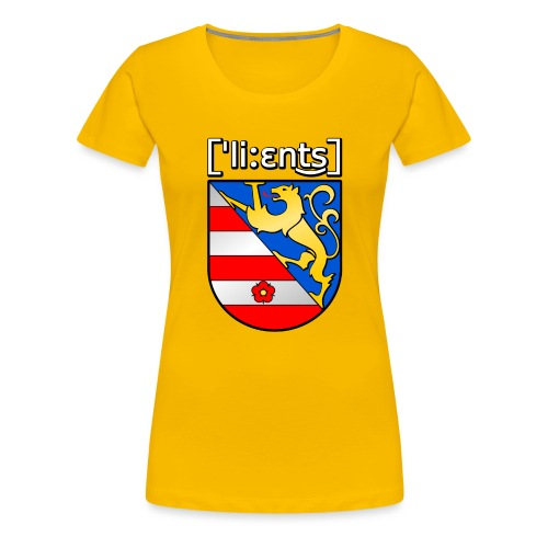 Lienz Wappen Shirt - Frauen Premium T-Shirt