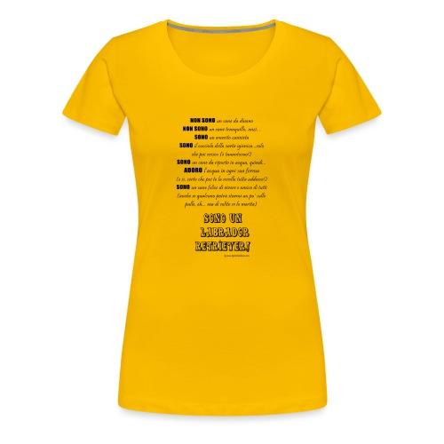 Vero standard Labrador - Maglietta Premium da donna
