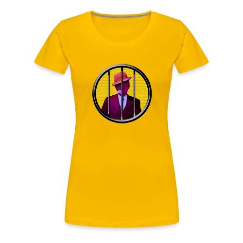 egonolsen cirkel - Dame premium T-shirt