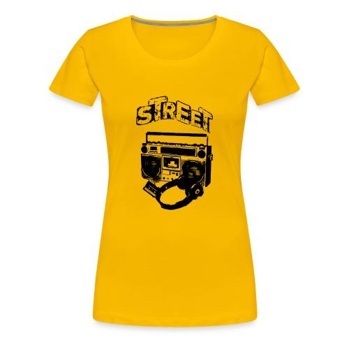 street 1 - Dame premium T-shirt