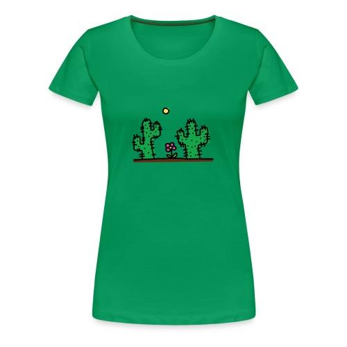 Cactus - Maglietta Premium da donna