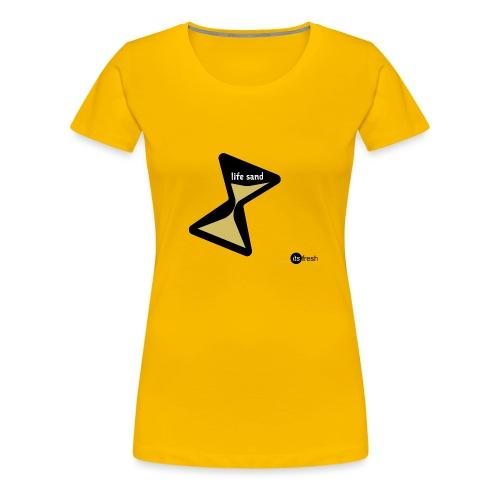 Sanduhr - Frauen Premium T-Shirt