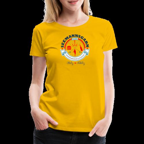 geweihbär Seemannsgarn 3 - Frauen Premium T-Shirt