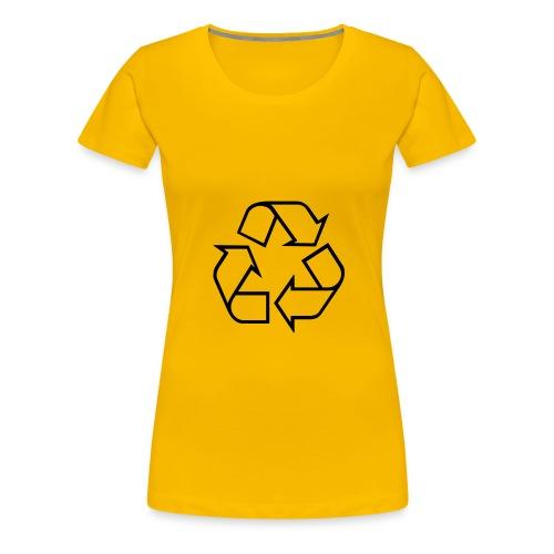 Recycle - Vrouwen Premium T-shirt