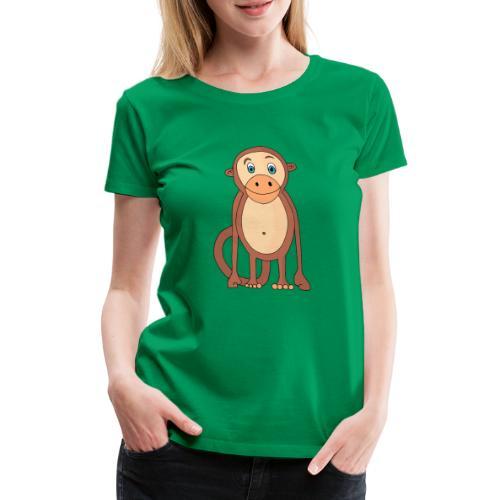 Bobo le singe - T-shirt Premium Femme