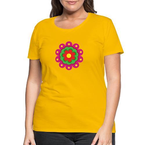 Fiesta Flower - Camiseta premium mujer