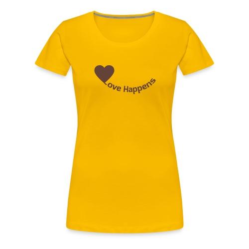 Love-Happens - Women's Premium T-Shirt