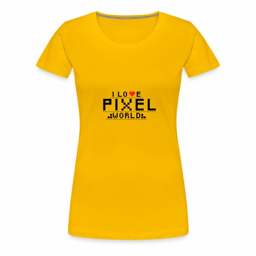 piexelworld png - Koszulka damska Premium