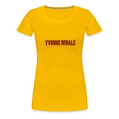 Logo_YvonneMwale_large - Frauen Premium T-Shirt