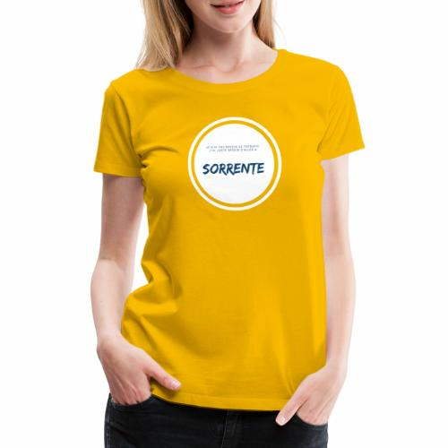 therapy - T-shirt Premium Femme