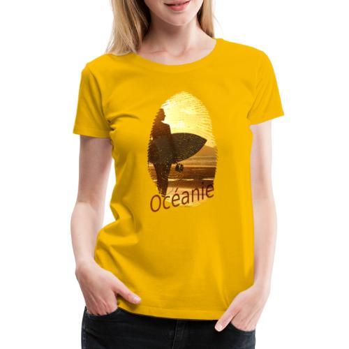 Océanie Pacifique Sud - T-shirt Premium Femme