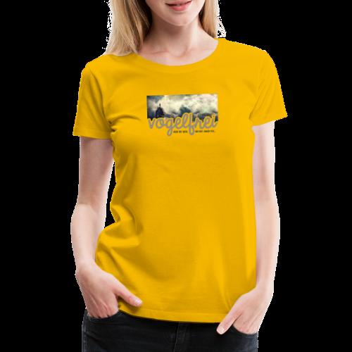 geweihbär Vogelfrei 3 - Frauen Premium T-Shirt