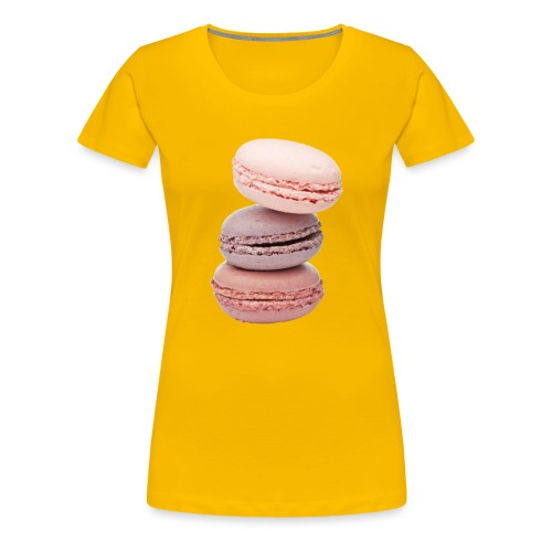 Macaron - T-shirt Premium Femme