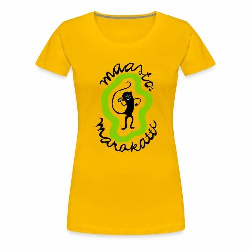 Maastomarakatti - Naisten premium t-paita