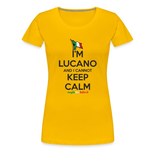 (keep_lucano_new) - Maglietta Premium da donna
