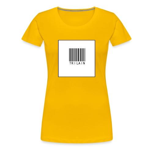 Trilain - Standard Logo T - Shirt - Vrouwen Premium T-shirt