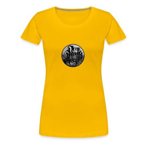 DemDawgLogo - Vrouwen Premium T-shirt