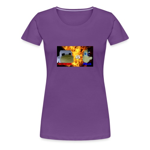 TGCHICKEN VS POLLO - Maglietta Premium da donna